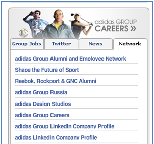 LinkedIn Recruitment adidas